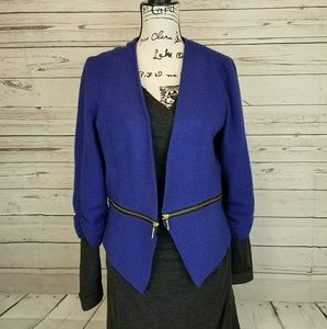 🎈Sale🎈Stooshy Blue open front jacket